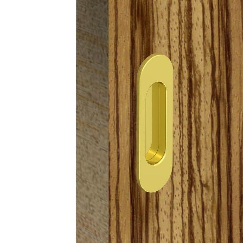 griffmulden set f r schiebet ren rund gold f r durchgangst ren zimmert ren schrankt ren. Black Bedroom Furniture Sets. Home Design Ideas
