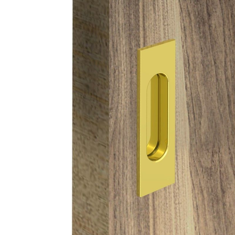 griffmulden set f r schiebet ren rechteckig gold f r durchgangst ren zimmert ren schrankt ren. Black Bedroom Furniture Sets. Home Design Ideas